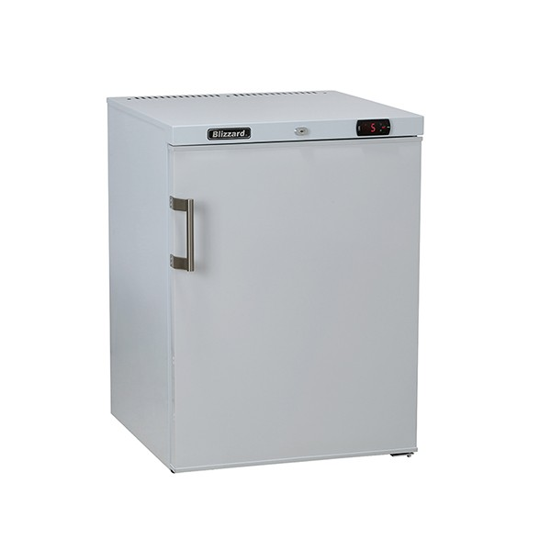 Under Counter White Laminated Freezer 115L