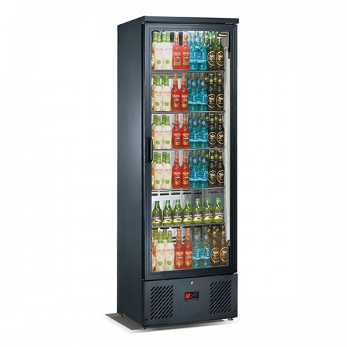 Upright Single Door Bar Bottle Cooler (324 BTL)