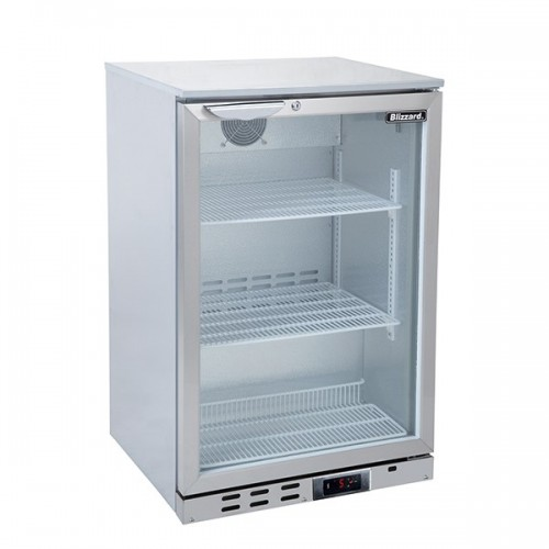 Single Door SS Bar Bottle Cooler (135 Bottles)