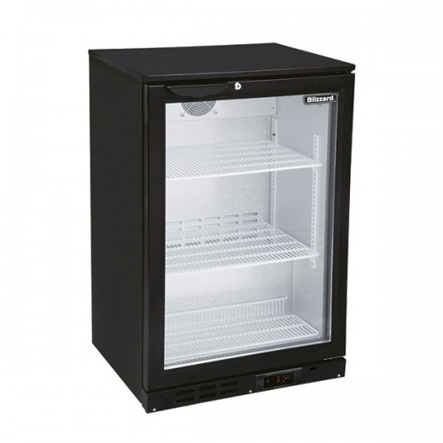 SINGLE DOOR BAR BOTTLE COOLER (135 BOTTLES)