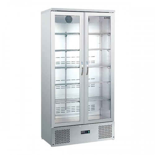 Upright Double Door SS Bar Bottle Cooler (492 BTL)
