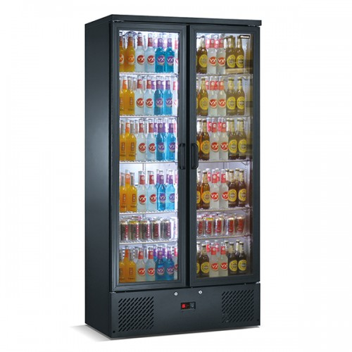 Upright Double Door Bar Bottle Cooler (492 BTL)