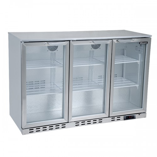 Triple Door SS Bar Bottle Cooler (338 Bottles)
