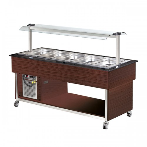 5 x GN1/1 Cold Buffet Display