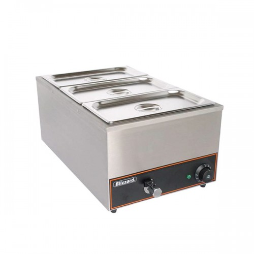 Bain Marie with Containers 3x GN1/3