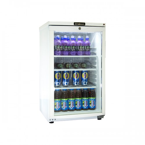 Budget Glass Door Refrigerator 105L