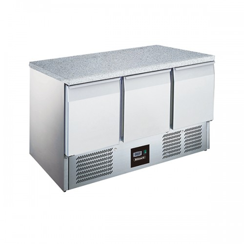 3DR Compact GN Counter with Granite Worktop 368L