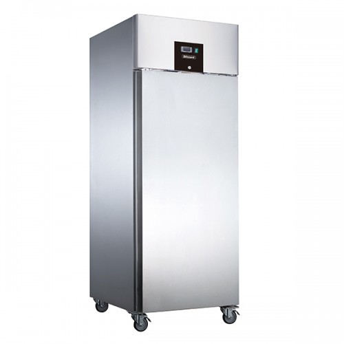SINGLE DOOR VENTILATED GN2/1 SS REFRIGERATOR 650L