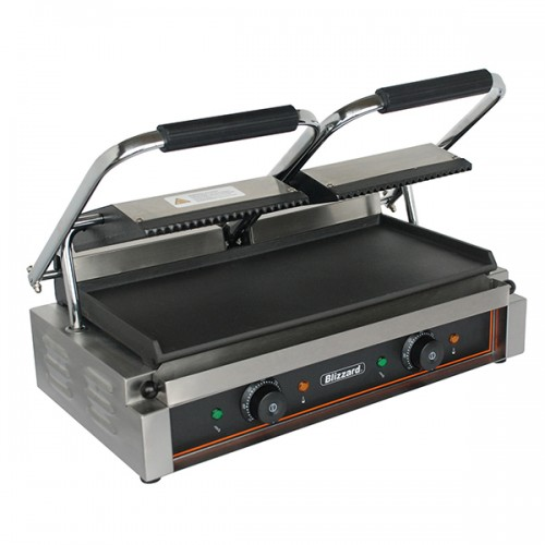 3600W Double Contact Grill Bottom Smooth