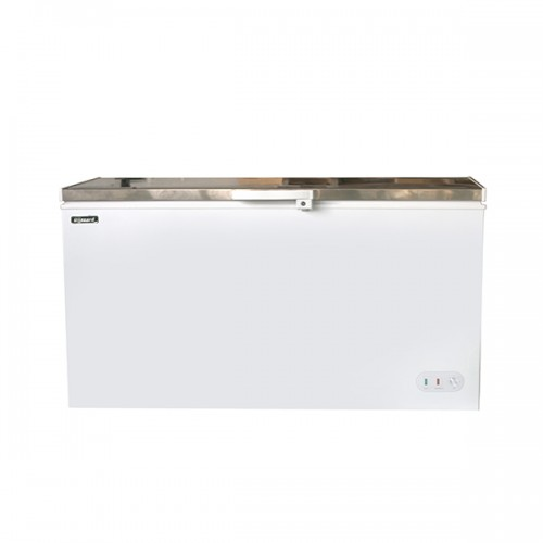 Stainless Steel Lid Chest Freezer 550L