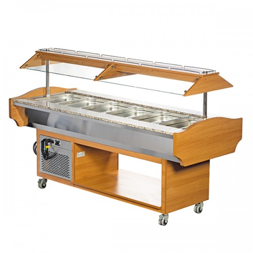 6 x GN1/1 Cold Buffet Display