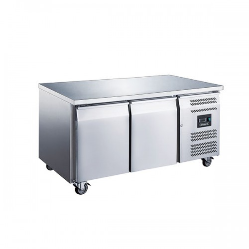 2 Door GN1/1 Counter Without Upstand 282L