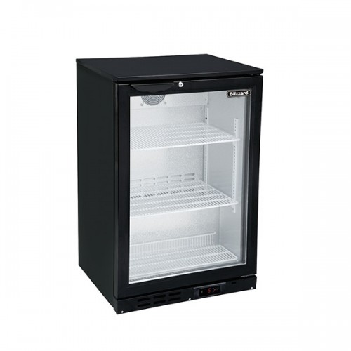 Single Door Low Height Bar Bottle Cooler (108 Btl)