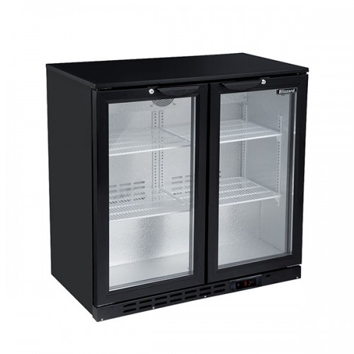 Double Door Low Height Bar Bottle Cooler (168 Btl)